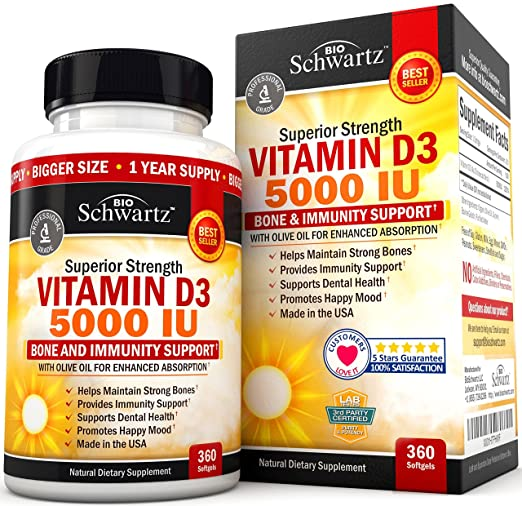 Top 10 Best Vitamin D Supplements
