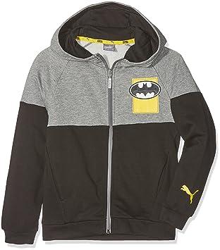3de3166dfd Puma Justice League Jacket Veste Mixte Enfant, Cotton Black, 8 Ans (Taille  Fabricant