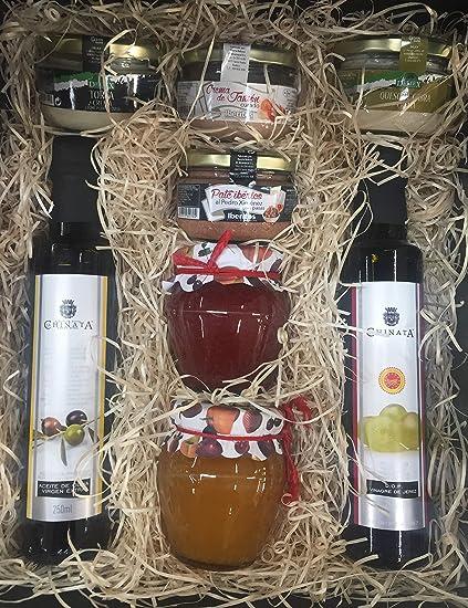 Gran cesta Gourmet para regalo de cumpleaños