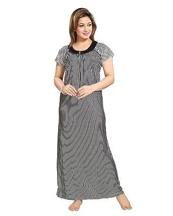 TUCUTE Women Girls Beautiful Printed Nighty Night Gown Night Dress Nightwear  ( b15d2a2e1