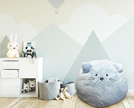 Amazon.com: Puf para niños: suave y cómodo puf de relleno ...