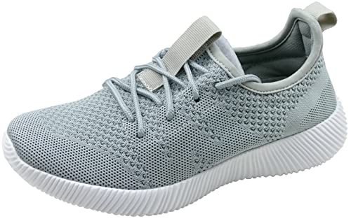Gibra Zapatillas de Tela Para Mujer, Color Gris, Talla 37 EU: Amazon.es: Zapatos y complementos