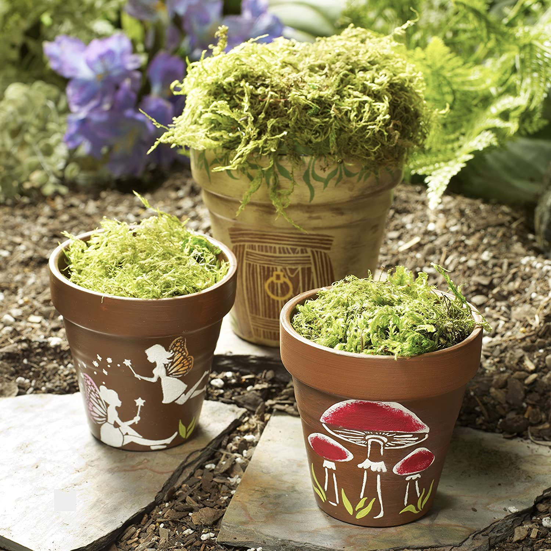 Folk Art Feen und Pilzen Mini Schablone Pack