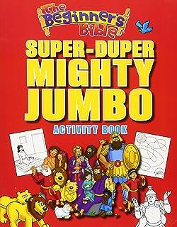 The Beginners Bible Super Duper Mighty Jumbo Activity Book