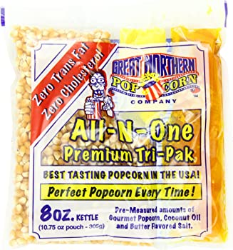4110 Great Northern Popcorn Premium Kernels - Case of 12