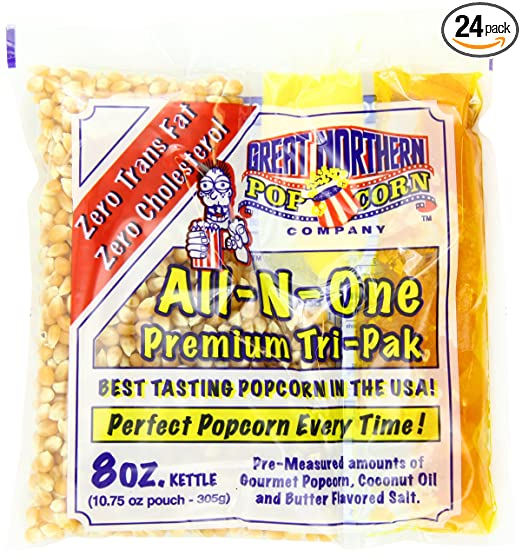 Great Northern Popcorn Premium 24 Pk- 8 Ounce Popcorn Portion