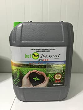 Bat Diamond Murciélago abono Fertilizante abono líquido 5 – 5 de 5, ...