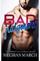 Bad Judgment Kindle Edition