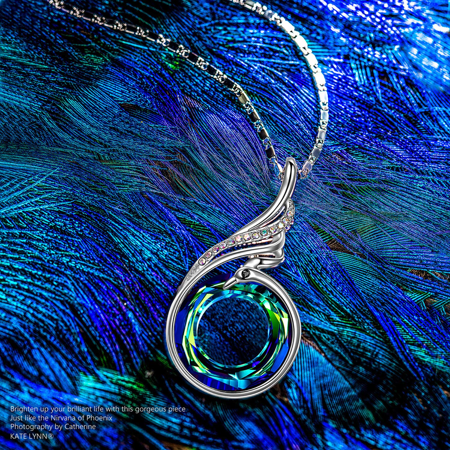 Gifts for Mom /& Gifts for Women Nirvana of Phoenix Necklaces for Women Christmas Gifts for Women Gifts for Grandma Gifts Jewelry for Women with Swarovski Crystals Birthday Gifts for Women