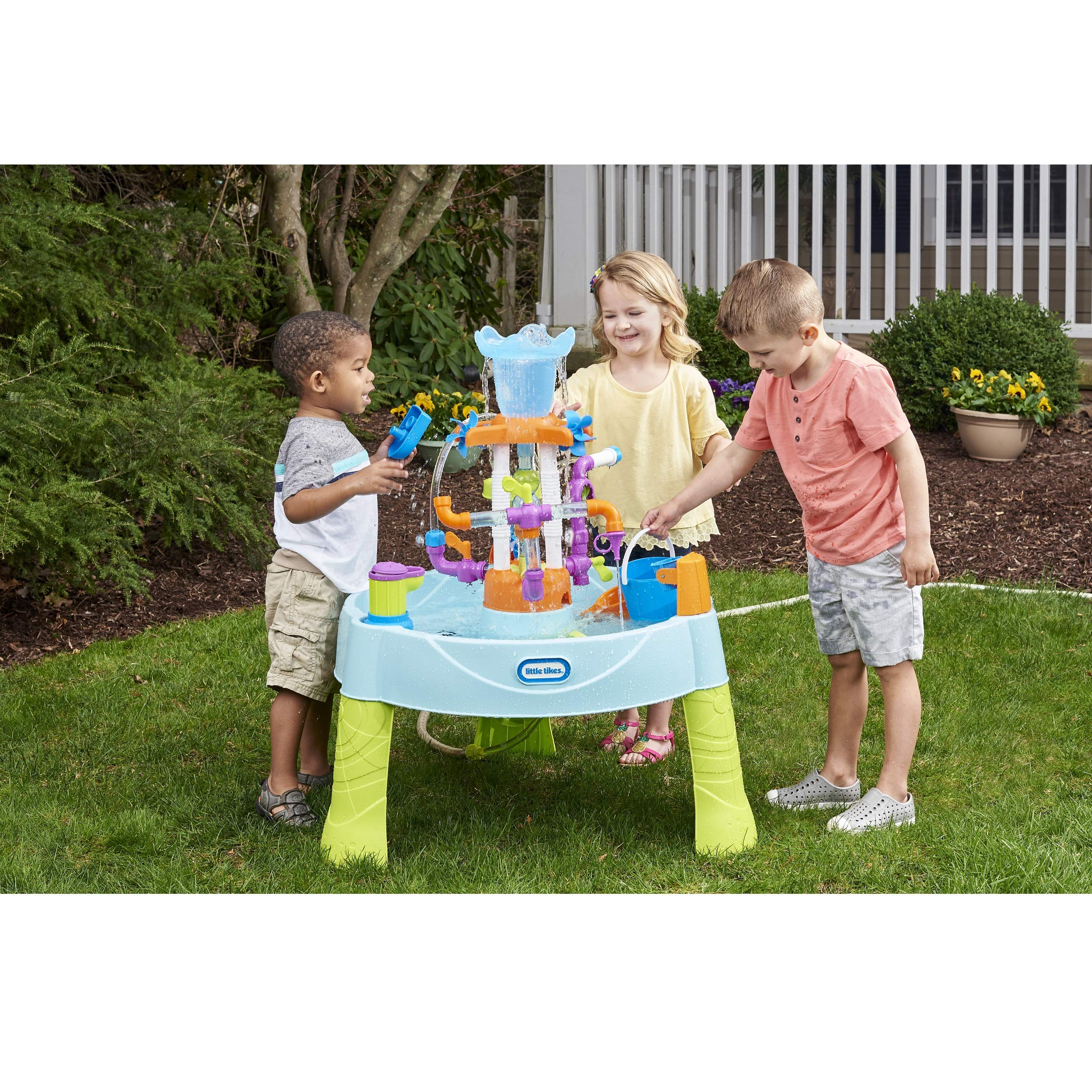 Little Tikes Flowin' Fun Water Table with 13 Interchangeable Pipes (Renewed) by Little Tikes (Image #2)
