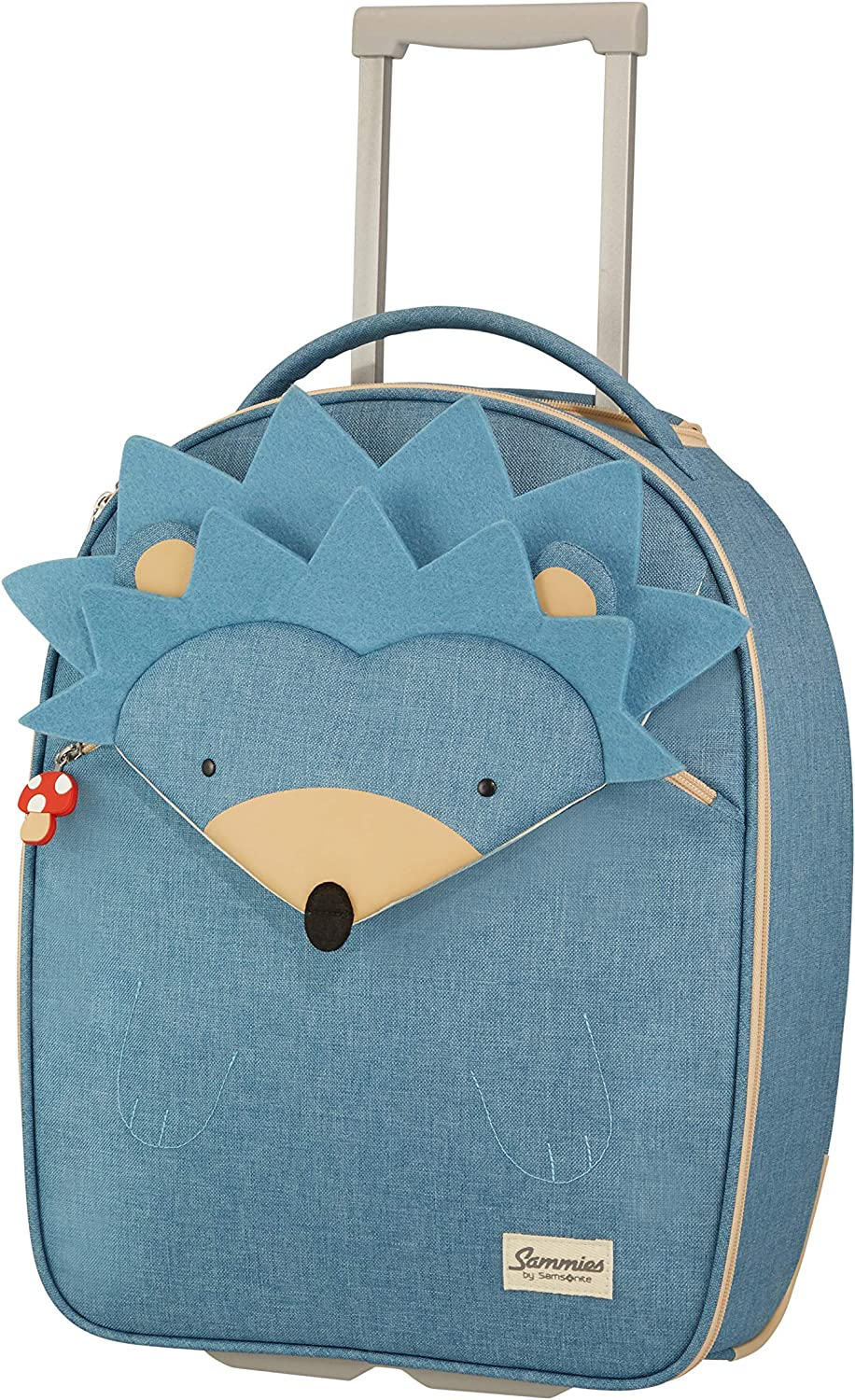 Samsonite Happy Sammies Upright Maleta Infantil 45 cm, 23 L Azul (Hedgehog Harris)