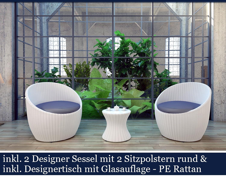 Polyrattan Gartenmöbel Set Poly Rattan Garten Möbel Gartengarnitur ...
