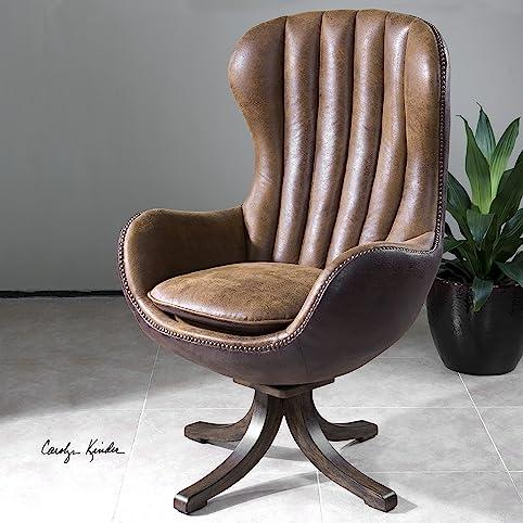 The Uttermost Garrett Mid Century Swivel Chair