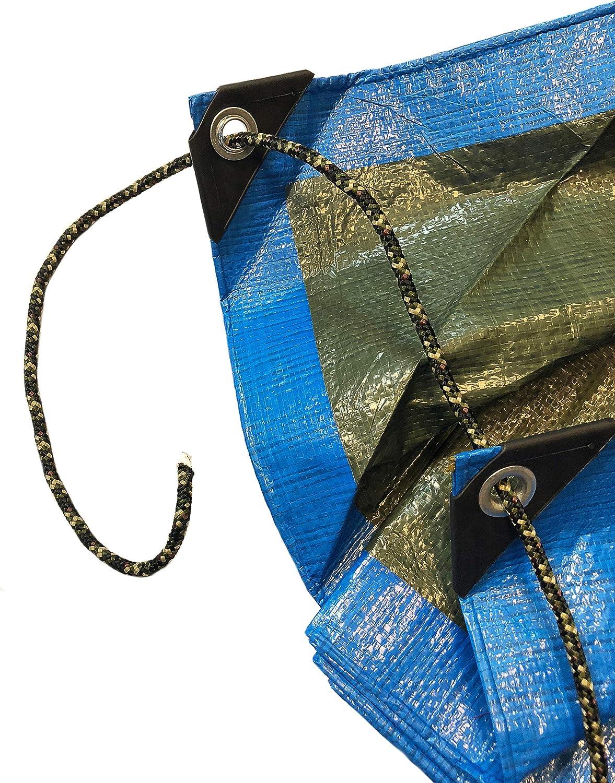 Green Home Fune Camouflage Corda in Polipropilene PP Fune Multiuso Guinzaglio per ormeggio Corda Intrecciata Lino Corda
