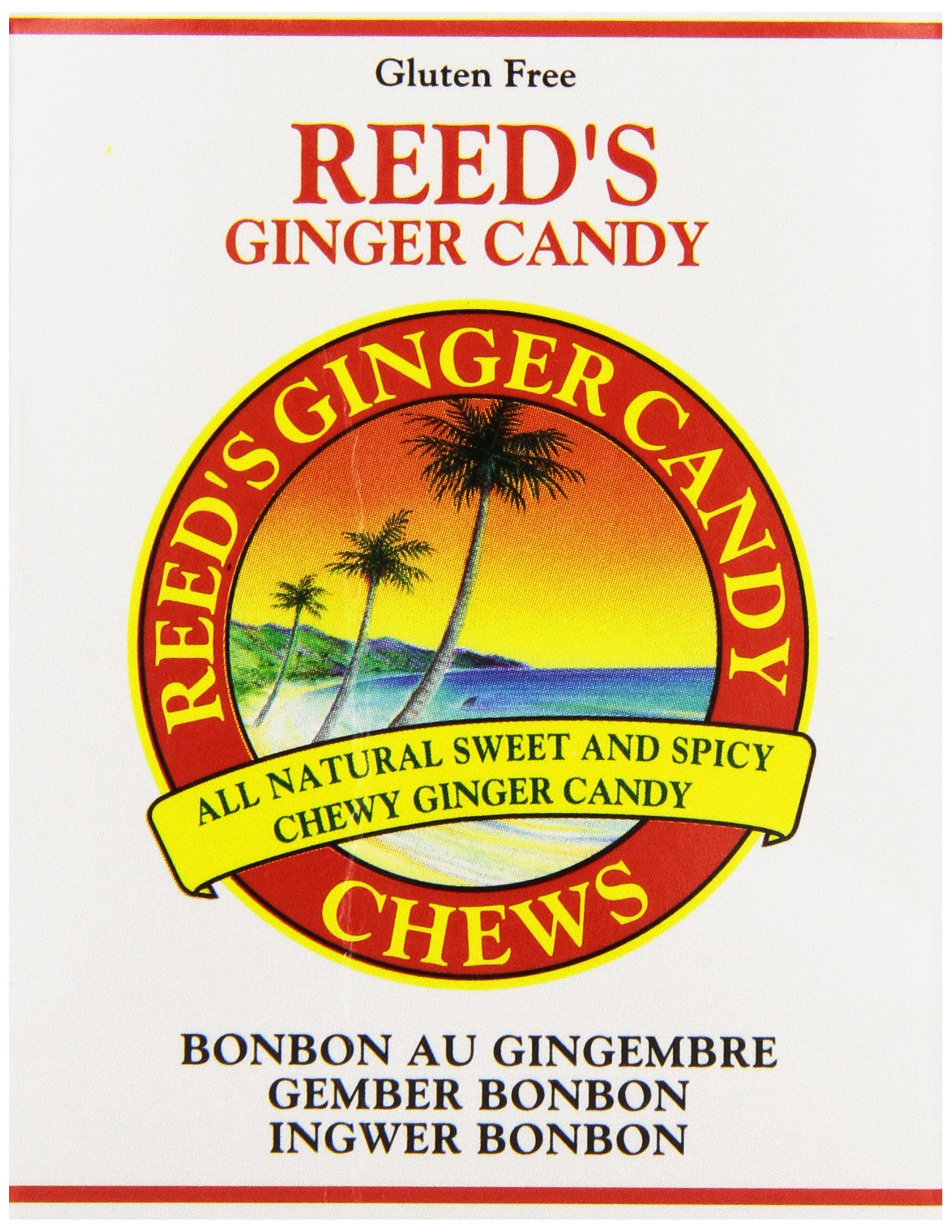 Reed's, Ginger Candy Chews, 2 oz by Reeds