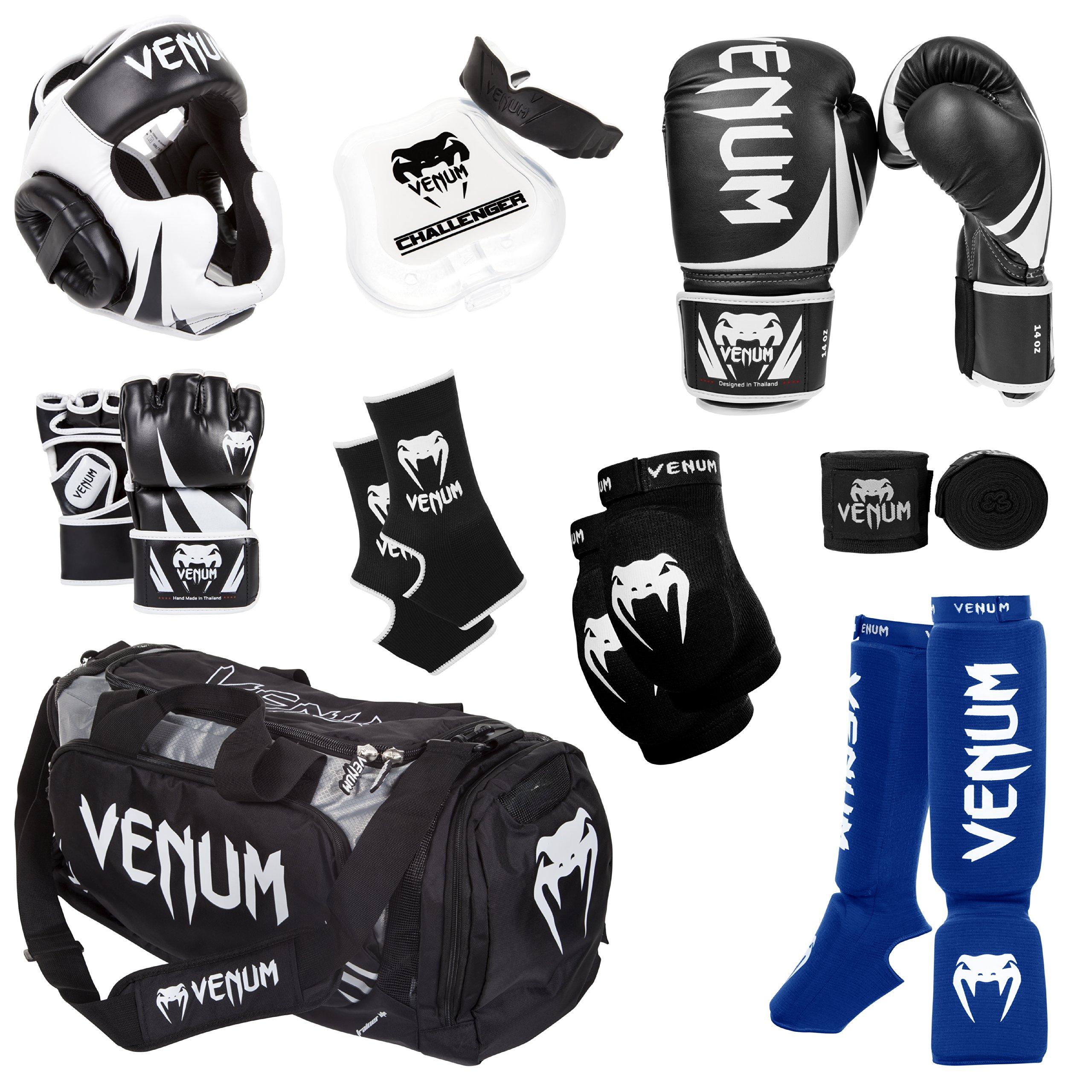 Venum Challenger 2.0 MMA Training Bundle, Black