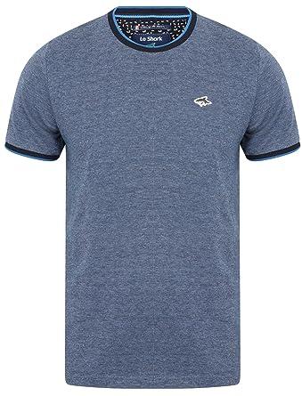 8bd57d3a975 Le Shark Mens Rutland Crew Neck Cotton T-Shirt: Amazon.co.uk: Clothing