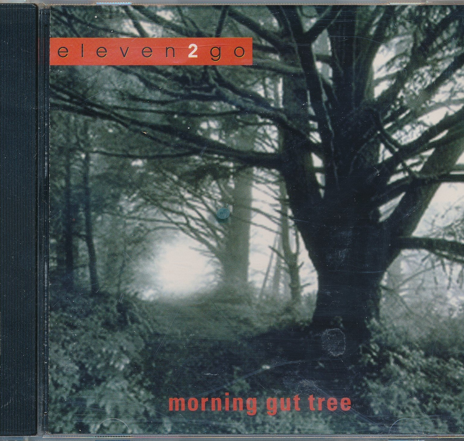 Eleven2go Morning Gut Tree : Songs- Archives; Think; Restless; Let It Down; Drifting; Background Noise; Sunless (1999 Music CD), John PetersonMichael Rains; Jesie Vanden Dogen; Josh Schachterle; Joao Cowperthwaite