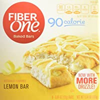 Deals on 8 Pack Fiber One 90 Calorie Lemon Bar 0.89 oz 6 Count