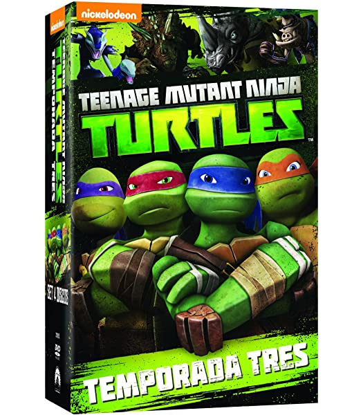Teenage Mutant Ninja Turtles: Comp Classic Series 23 Dvd 2 ...