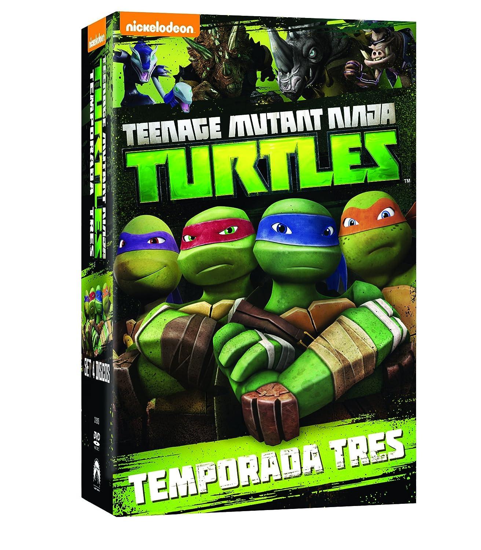 Teenage Mutant Ninja Turtles - Temporada 3 [DVD]: Amazon.es ...