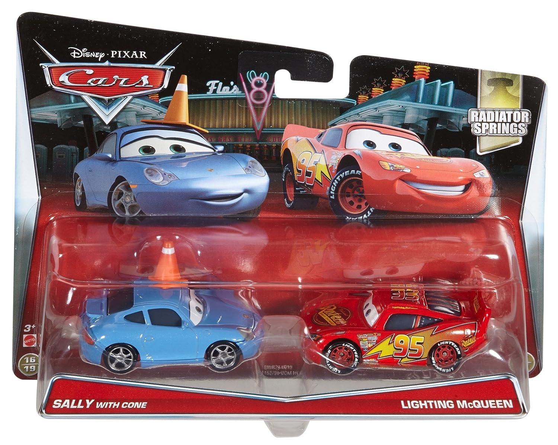Buy Disney Cars Pixar Sally With Cone Lightning Mcqueen Die Cast