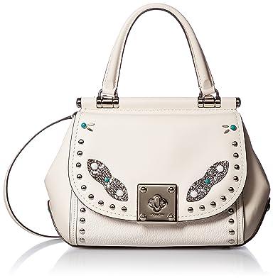 73afc42ede discount code for coach womens western rivets drifter top handle chalk one  size handbags amazon e12a8
