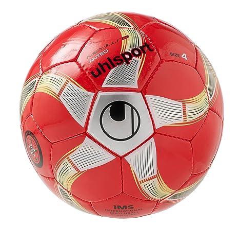 Uhlsport Medusa Anteo Balón Futbol, Unisex, Rojo, 4: Amazon.es ...