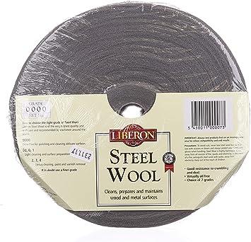 Liberon Steel Wire Wool Clean /& Prepare Metal /& Wood Superfine 00 grade 1kg