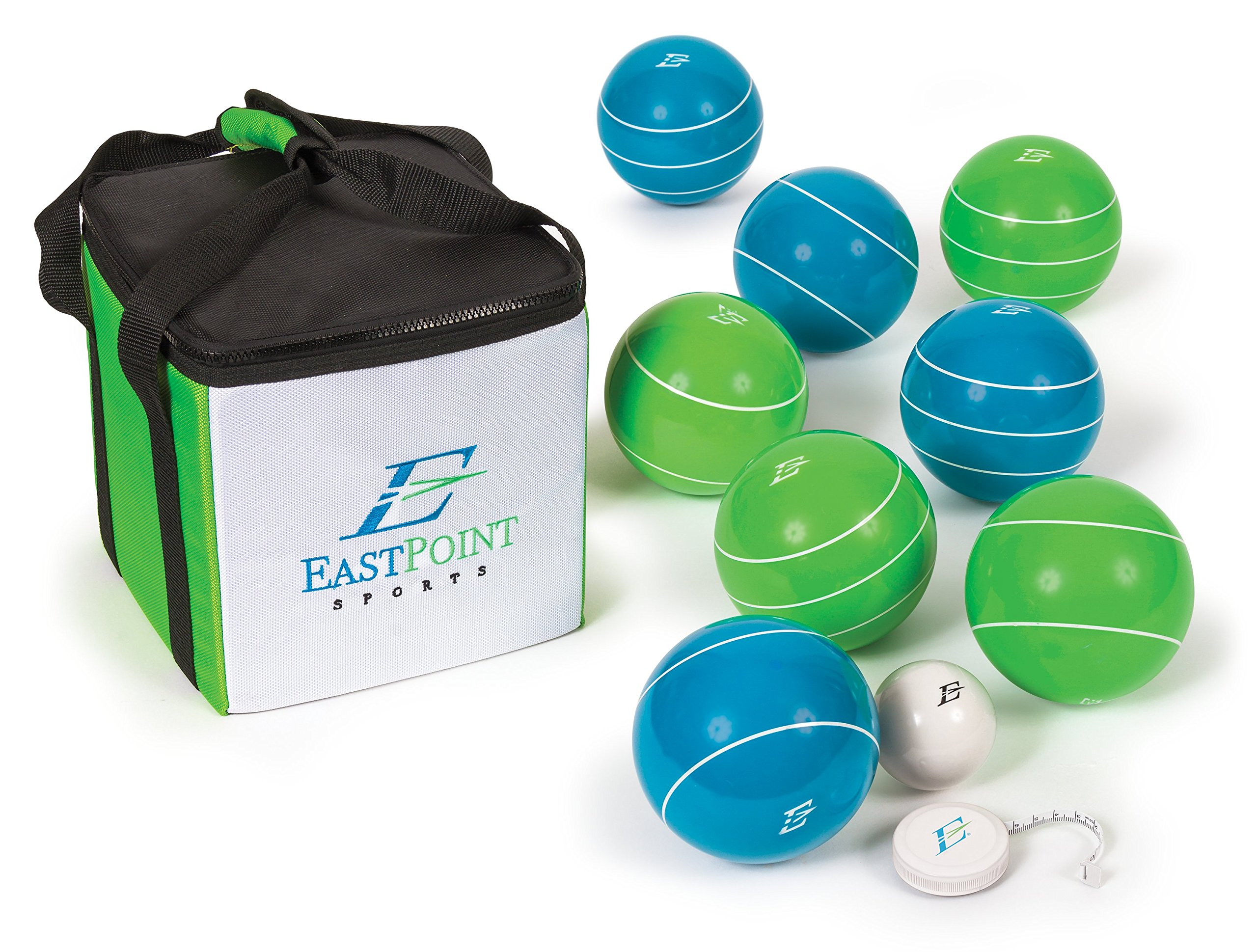 EastPoint Sports Resin Bocce Ball Set with Carrybag by EastPoint Sports