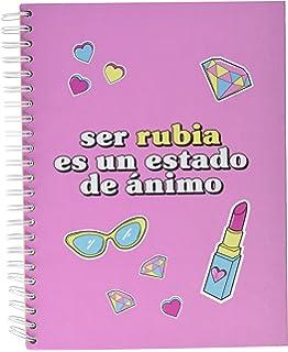 Planeta Gifts La vecina rubia - Libreta, A4: Amazon.es: Oficina y papelería