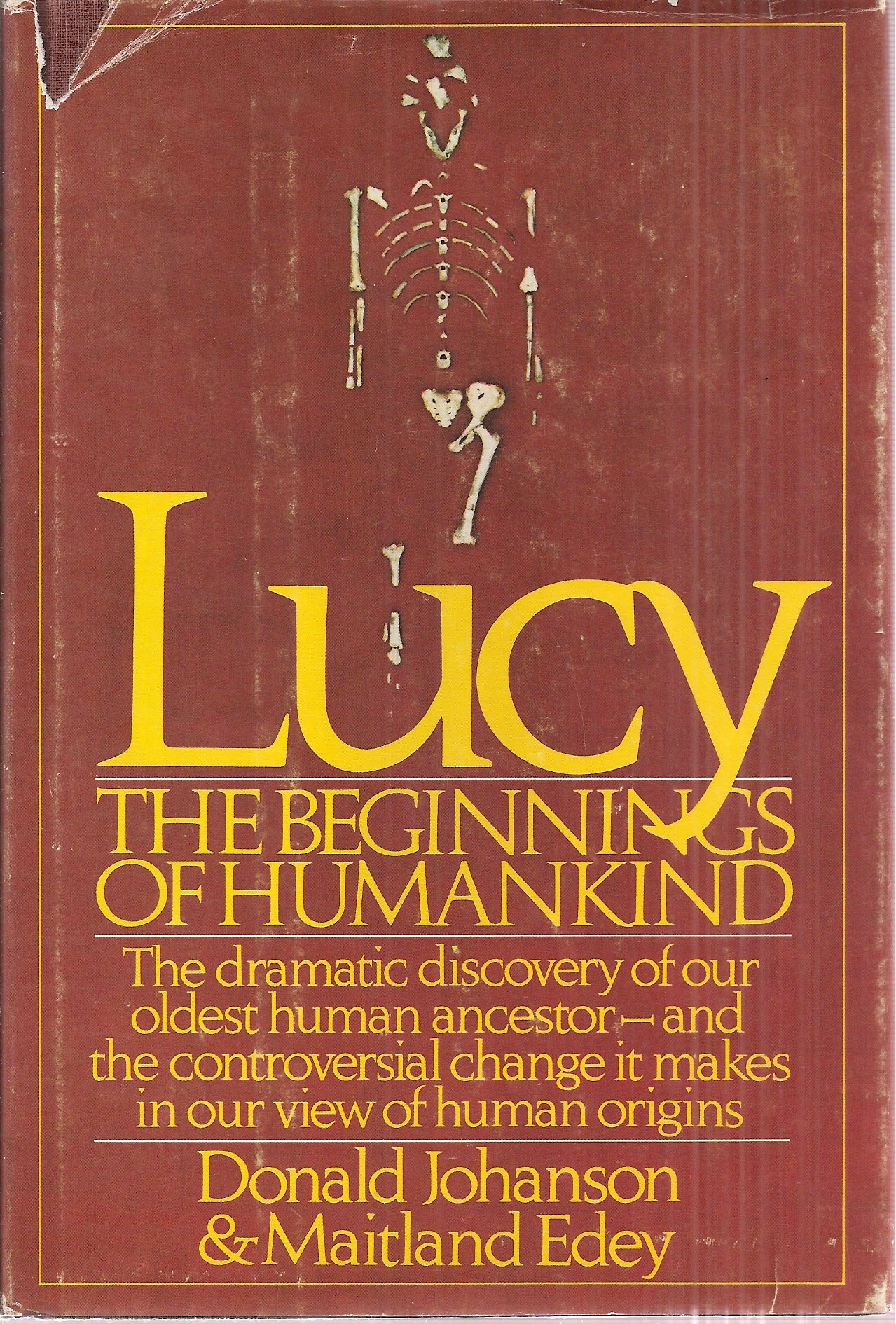 Lucy, The Beginnings of Humankind: (SIGNED COPY) The Dramatic Discovery of  Our Oldest Human Ancestor and the Controversial Change It Makes in Our View  of ...