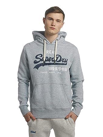 Superdry Herren Sweatshirt Vintage Logo Duo Hood  Amazon.de  Sport ... 179db95c07
