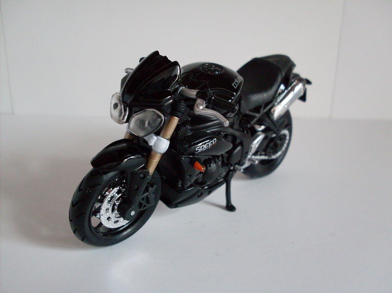 Triumph Speed Triple grün maisto 1:18 Motorrad Modell die cast motorcycle model