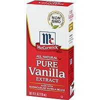 McCormick Pure Vanilla Extract, 4 Fl Oz