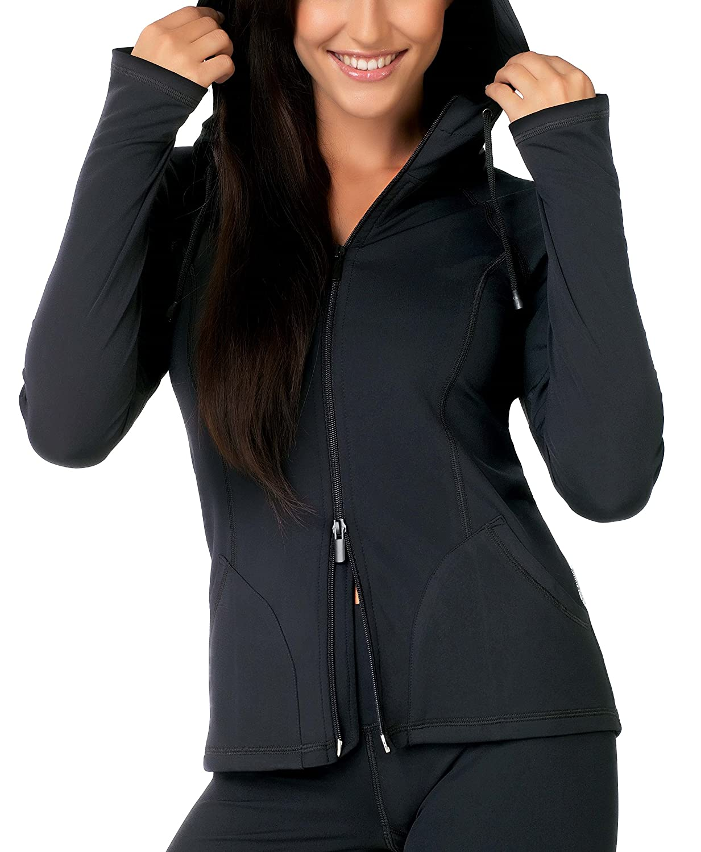 Gwinner Damen Sport Fitness Hoodie Kapuzenjacke Gisela