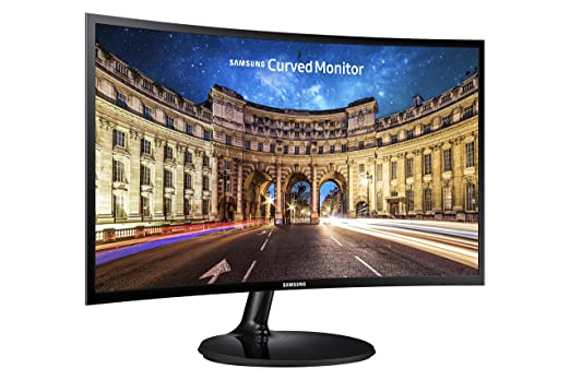 Review Samsung IT LC24F390FHNXZA 24-Inch Curved Gaming Monitor (Super Slim Design), 60Hz Refresh Rate w/AMD FreeSync Game Mode