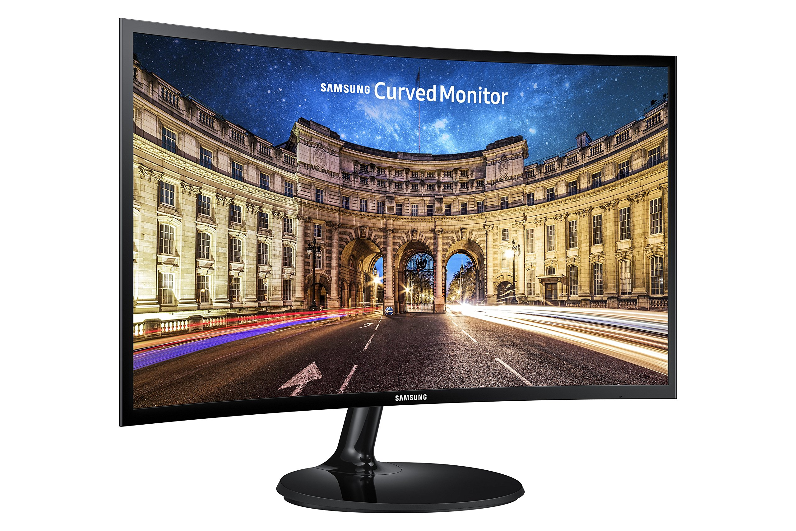 Samsung C24F390 24-Inch Curved Monitor (Super Slim Design) by Samsung