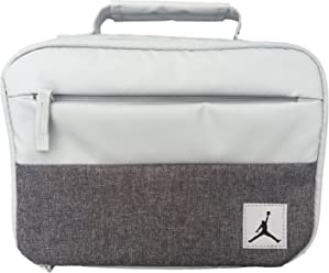 Jordan Kids Insulated Lunch Bag (Pure Platinum(9A0085-P23)/Coll
