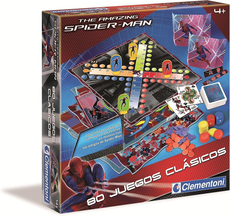 Clementoni - Juegos Clasicos 80 Spiderman 17-65471: Amazon.es ...