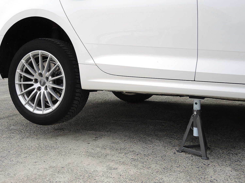 Chandelle pour voiture avec semelles en caoutchouc 3/000/kg.