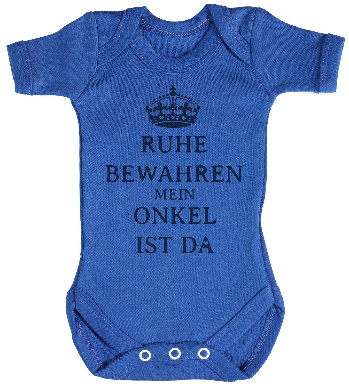 TRS - Ruhe Bewahren Onkel Baby Bodys/Strampler 100% Baumwolle DEUNI-RB18