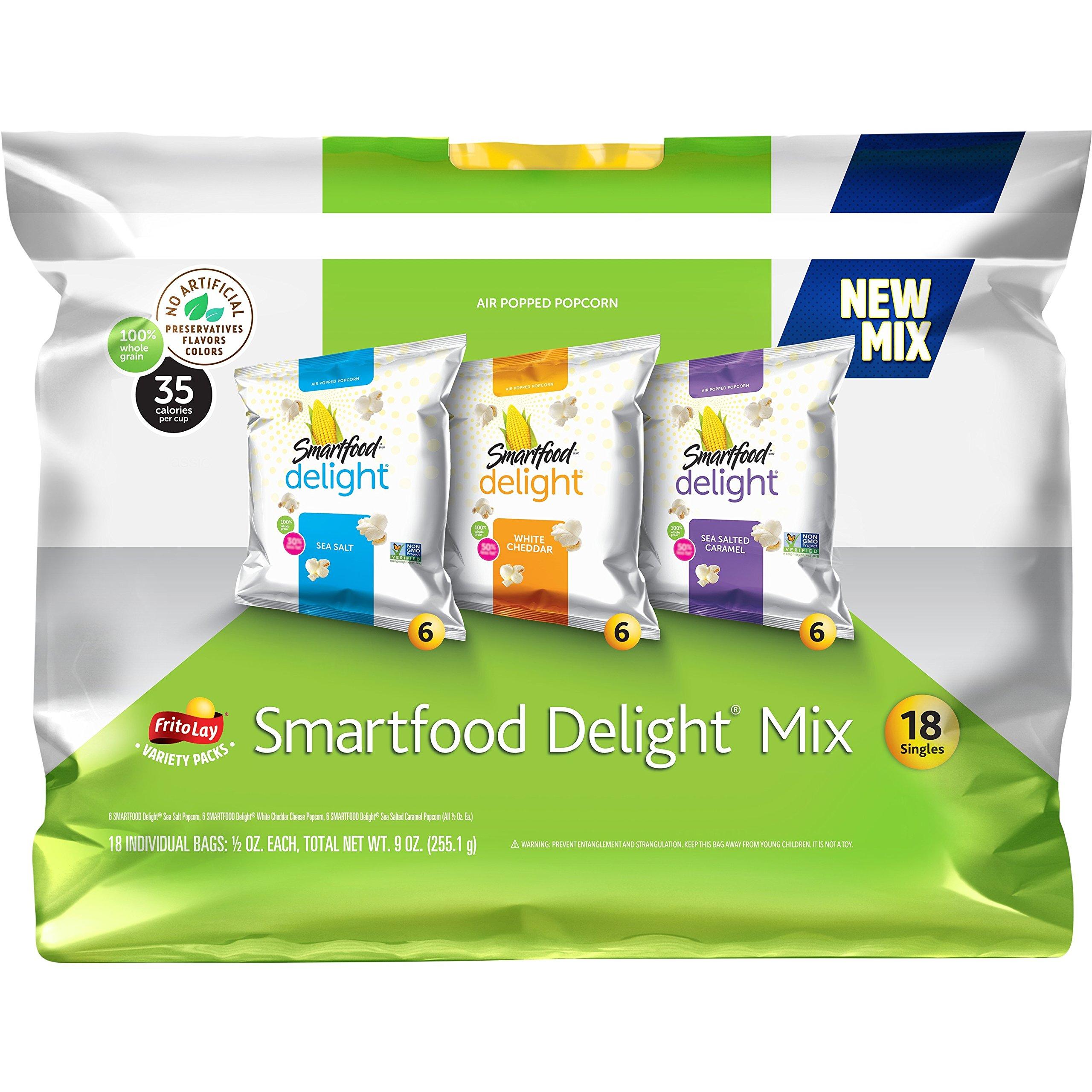 Smartfood Delight Popcorn Variety Pack, 18 Count