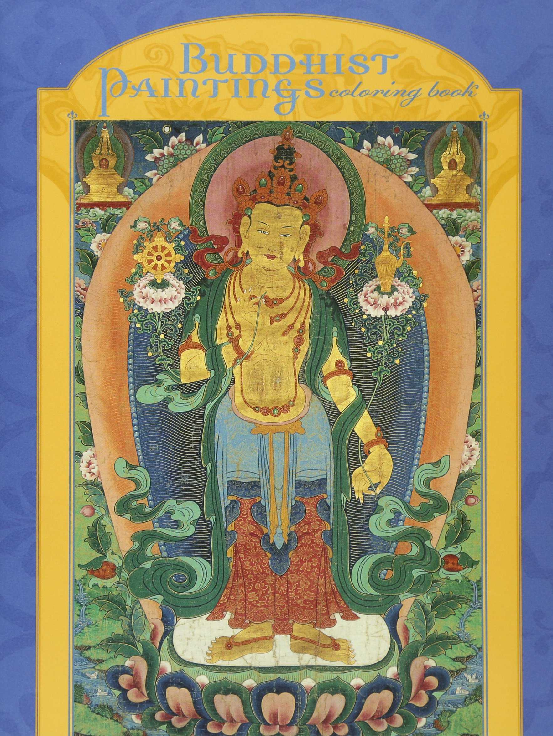 Buddhist Paintings Coloring Museum Francisco product image