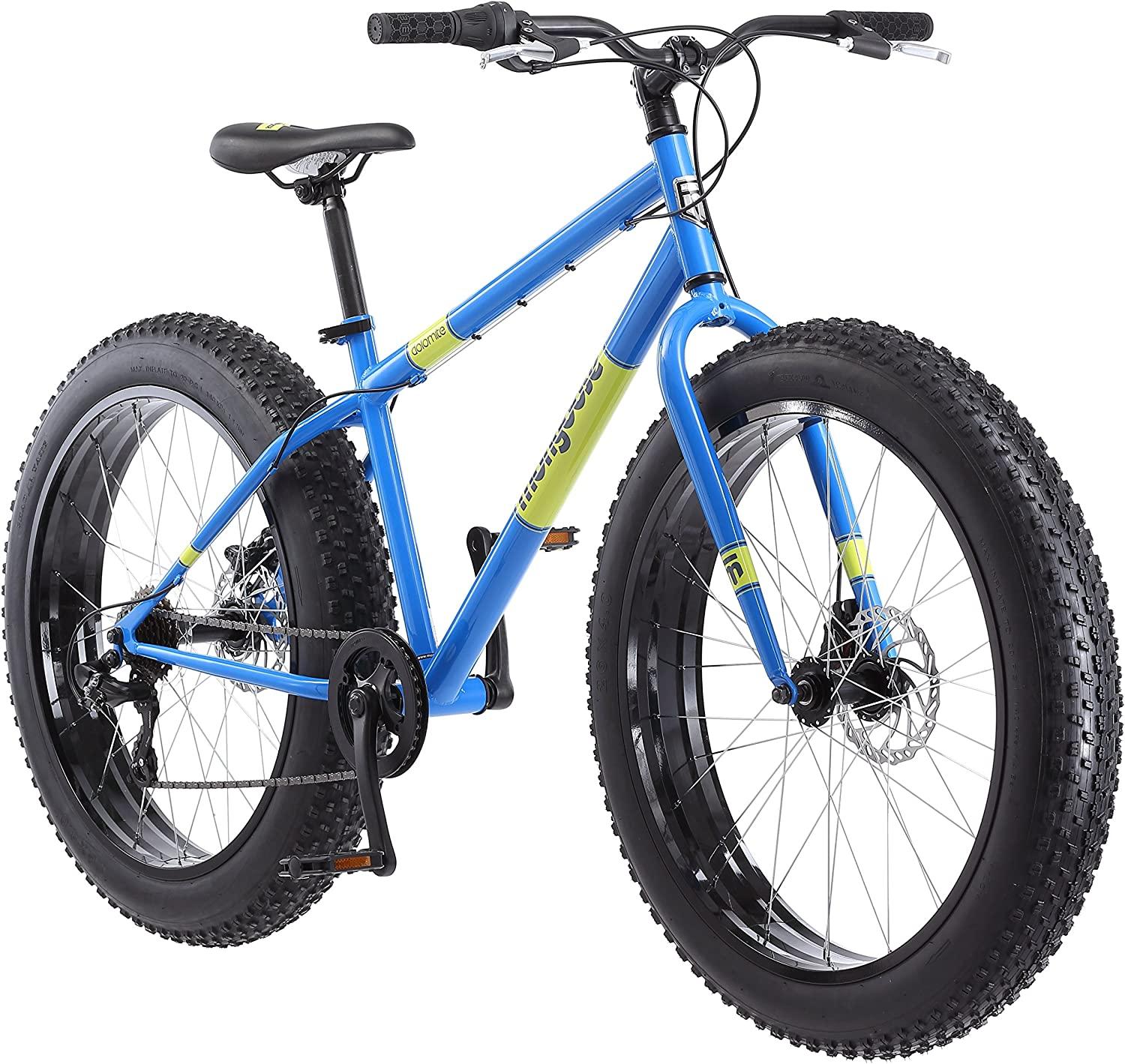 Amazon Com Mongoose Dolomite Fat Tire Men S Mountain Bike 17