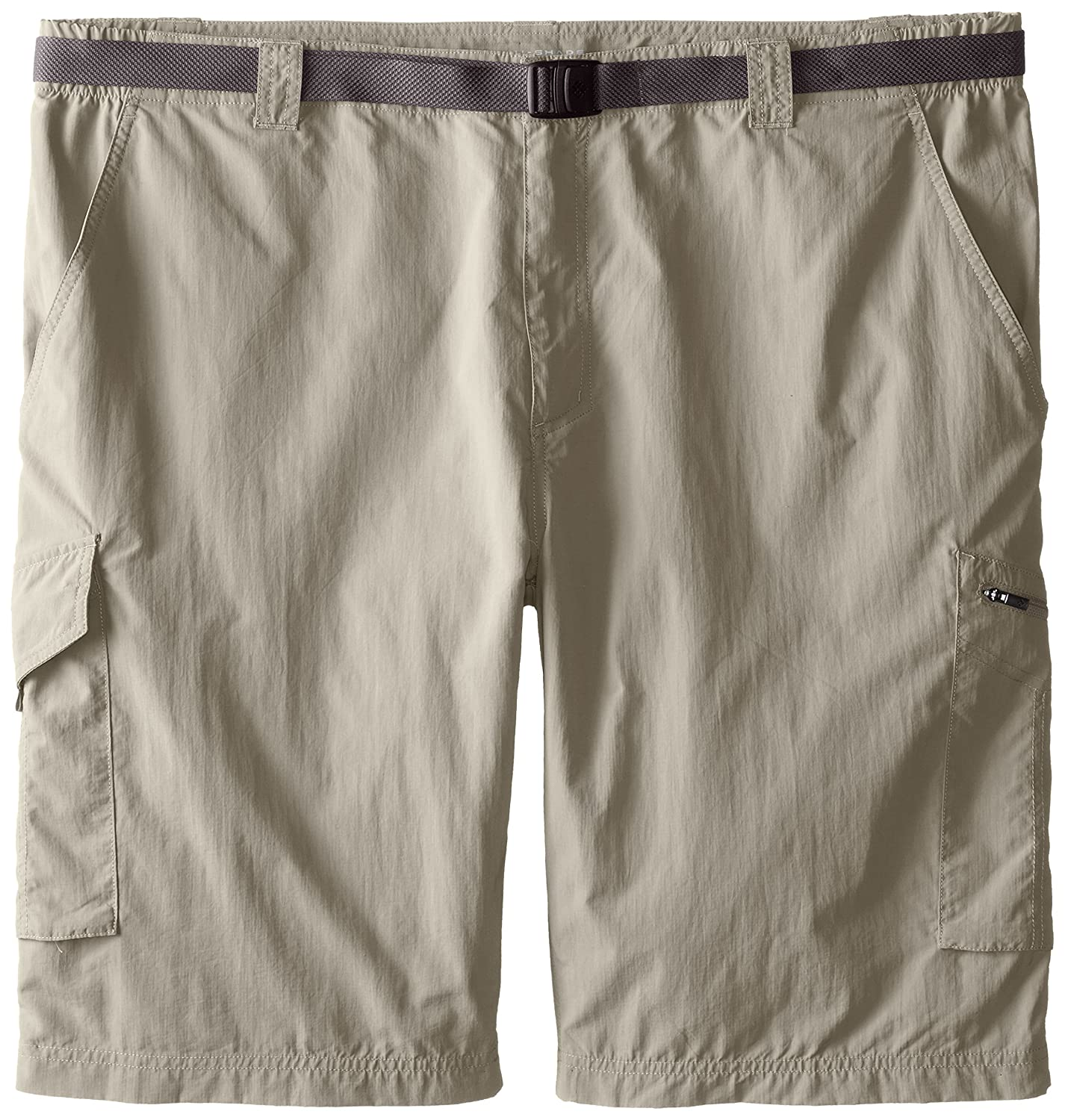 Columbia Sportswear Men's Big and Tall Silver Ridge Cargo Shorts, Tusk, 48 x 10 1441706
