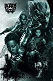 """Amazon Price History for:Trends International Wall Poster Group Black Panther, 22.375"""" x 34"""""""