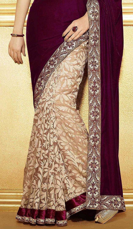 Desgaste Mujeres Bollywood Sari Sari Partido De Ropa De Moda Indain: Amazon.es: Ropa y accesorios