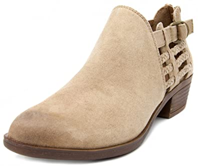 Women's Tiernie Ankle Boot Bootie With Woven Detail