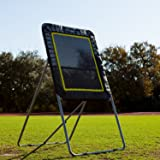 Champion Sports Deluxe Lacrosse Target: Ball Return Bounce Back Net Set for Professional, College and Grade School Training, and Drills - Practice Offense, Passing Skills, and Shooting Accuracy